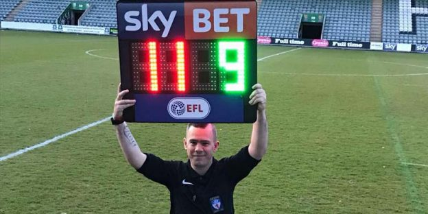 Football referee Ali Turner from Plymouth